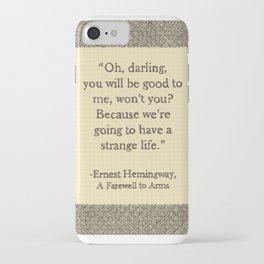 Oh, Darling iPhone Case