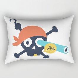 Arr Dead Pirate Rectangular Pillow