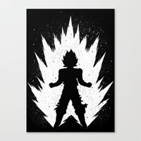 goku Canvas Prints featuring Goku by Proxish Designs