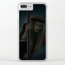 werewolf Clear iPhone Case