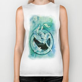 Goddess of Scorpio - A Water Element Biker Tank