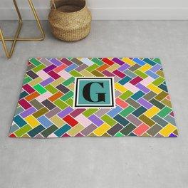G Monogram Rug