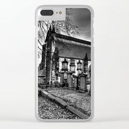 Greyfriars Kirk Edinburgh Clear iPhone Case
