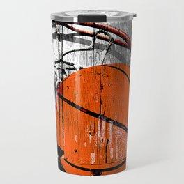 Modern Basketball version 1 Travel Mug