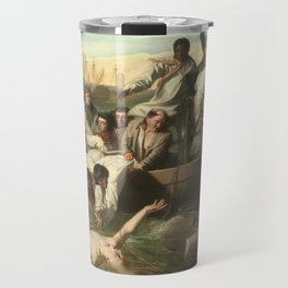 Watson and the Shark by John Singleton Copley Travel Mug