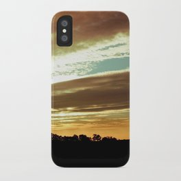 Dawn On The Side iPhone Case