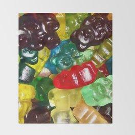 Gummy Bears Throw Blanket