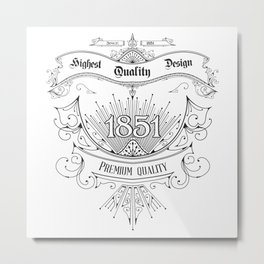 premium quality design Metal Print