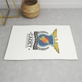 US Space Force Academy Crew Cadet Trainee Recruit Light Rug