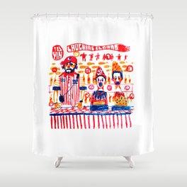 Fair game Shower Curtain