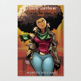 "The Super Natural Woman ""Fall"" Canvas Print"