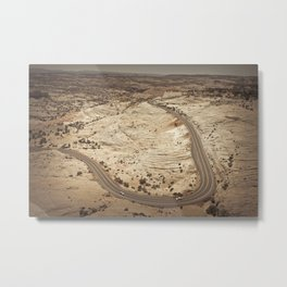 Head of the Rocks overlook, Utah Metal Print