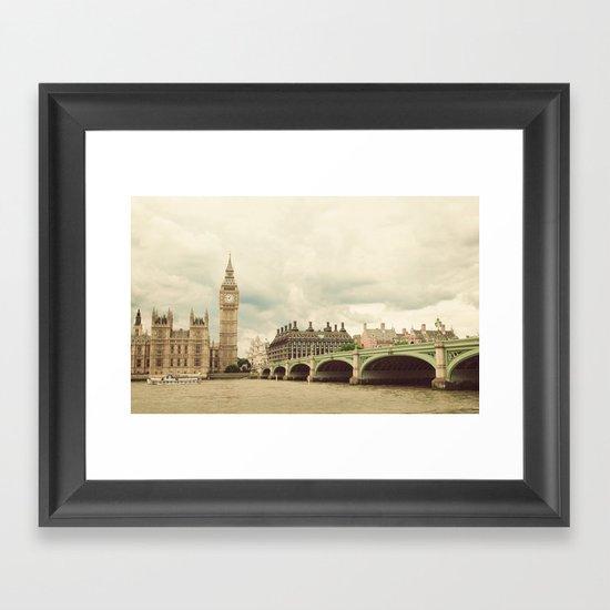 Big Ben Framed Art Print