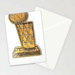 Cleveland Basketball Puzzle Stationery Cards