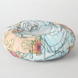 Peaceful Pitbull Floor Pillow
