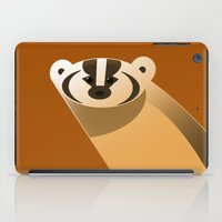 badger iPad Cases featuring badger by Thomas