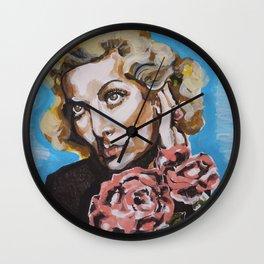 Carole Lombard Wall Clock