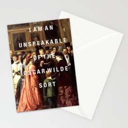 unspeakable Stationery Cards