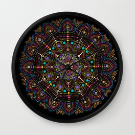 Mom's God's Eye Wall Clock