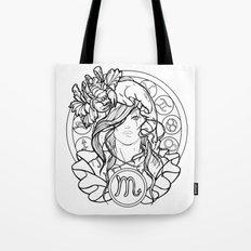 Zodiac Series   Scorpio Tote Bag