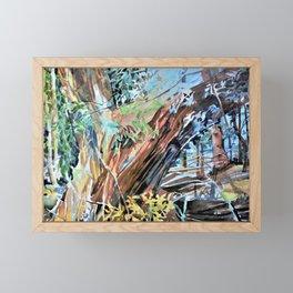 Watercolor Landscapes Murals Framed Mini Art Print