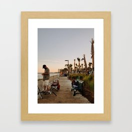 Idle Framed Art Print