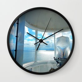 Souris Lighthouse View from the Top Wall Clock