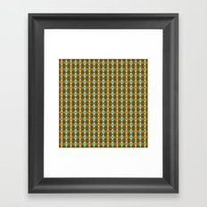 Retro Eight Framed Art Print