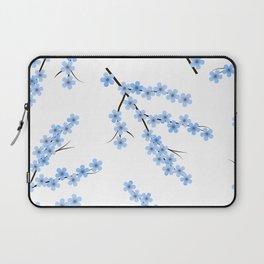 Blue Sakura Laptop Sleeve