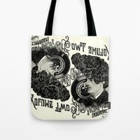 rockabilly Tote Bags featuring Rockabilly by DIVIDUS