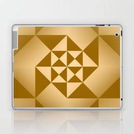 Abstract Triangles - Desert Laptop & iPad Skin