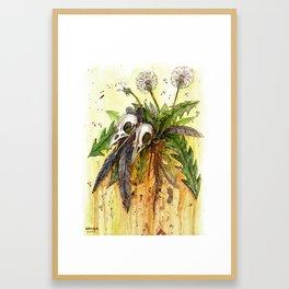 Insincere Framed Art Print