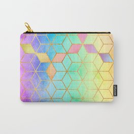 Rainbow Cubes Carry-All Pouch