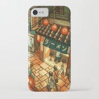 ramen iPhone & iPod Cases featuring Ramen in the Alley by Kerri Aitken