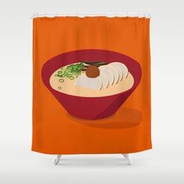 Ramen (Akamaru Chashu) Shower Curtain