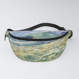 """Vincent van Gogh """"Mountainous Landscape behind Saint-Paul Hospital"""" Fanny Pack"""