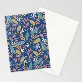 Modern Nature Pattern Stationery Cards