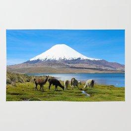 Chungara Lake, Chile Rug
