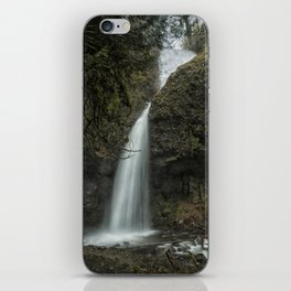 Upper Latourell Falls, No. 1 iPhone Skin