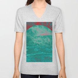 Textures & Sunsets Unisex V-Neck