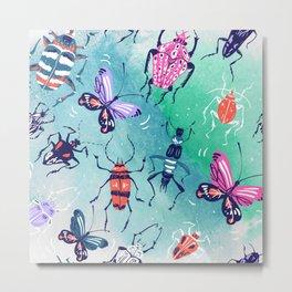 The Bugs Metal Print