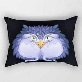 Owl Mice Rectangular Pillow
