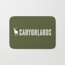 Deer: Canyonlands, Utah Bath Mat