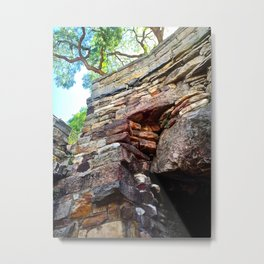 The Rocks Metal Print