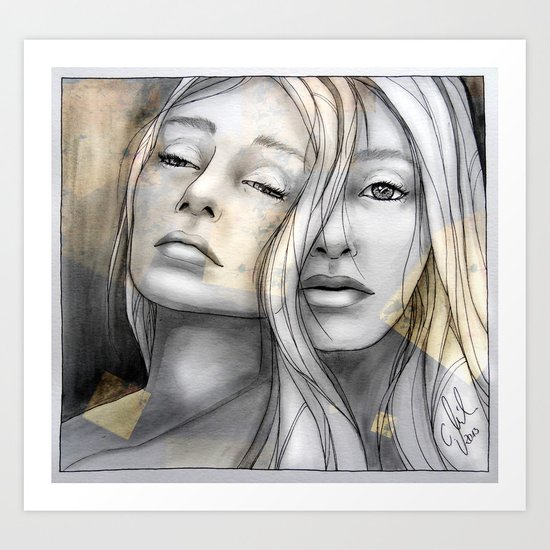 """Reflection II"" by carographic Art Print"