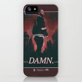DAMN. Poster - Kendrick iPhone Case