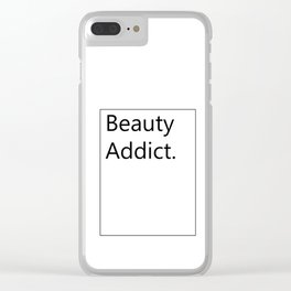 Fashion City: Beauty Addict Clear iPhone Case