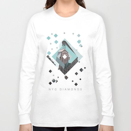 New York City Diamonds Long Sleeve T-shirt