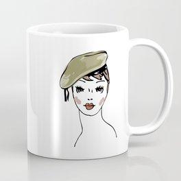 Beret Hat Coffee Mug
