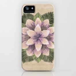 Ipomoea Triloba Sand iPhone Case